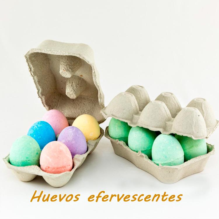 Huevos efervescentes