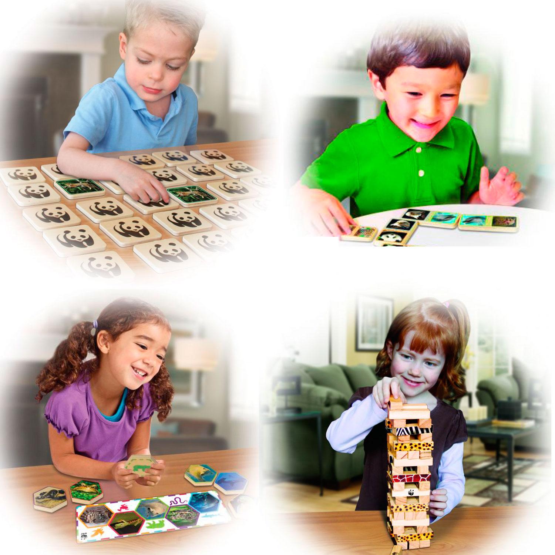 Juegos WWF, juguetes para la concienciación medioambiental