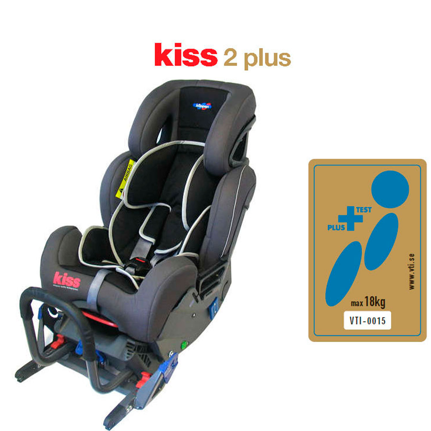 Kiss 2 Plus Klippan